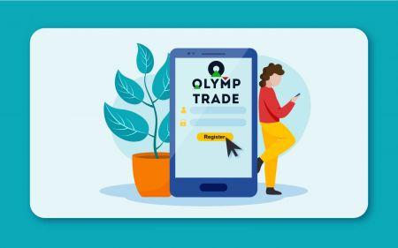 Comment créer un compte dans Olymp Trade