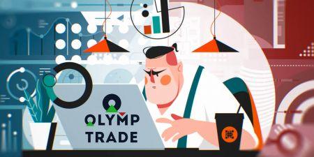 Comment ouvrir un compte de trading et s'inscrire sur Olymp Trade