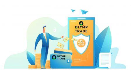 Comment ouvrir un compte et déposer de l'argent sur Olymp Trade