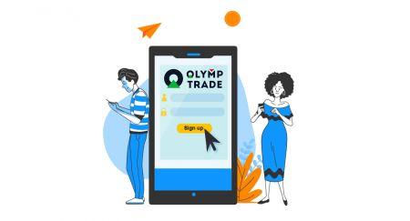 Comment créer un compte et s'inscrire auprès d'Olymp Trade