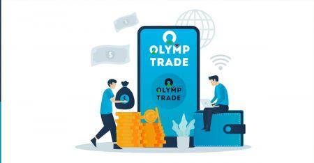 Comment s'inscrire et retirer de l'argent sur Olymp Trade