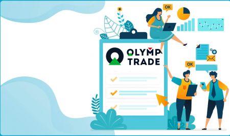 Comment se connecter et vérifier le compte dans Olymp Trade