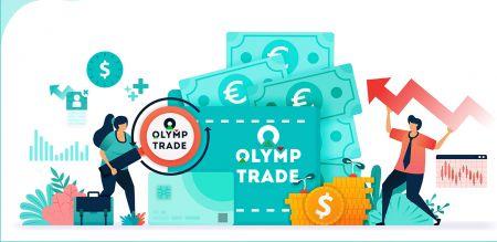 Comment déposer de l'argent dans Olymp Trade