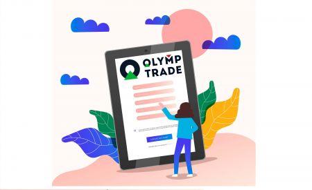 Comment ouvrir un compte de trading dans Olymp Trade