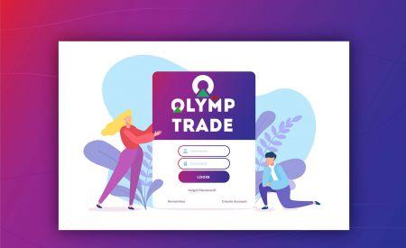Comment ouvrir un compte et se connecter à Olymp Trade