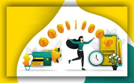 Comment retirer et déposer de l'argent dans Olymp Trade